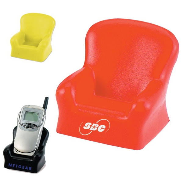 Imprinted Sofa Cell Phone Holder Stress Reliever