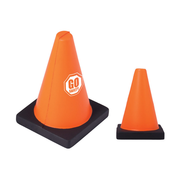 Printed Construction Cone Stress Reliever