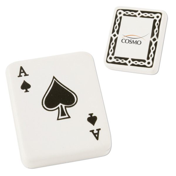 Personalized Ace of Spades Stress Reliever
