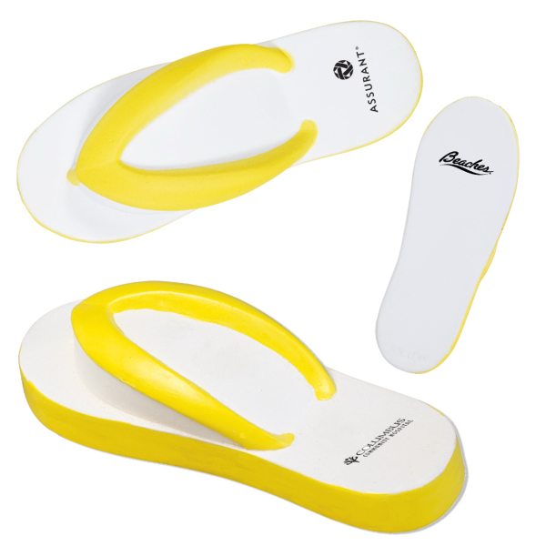 Customized Flip Flop Stress reliever