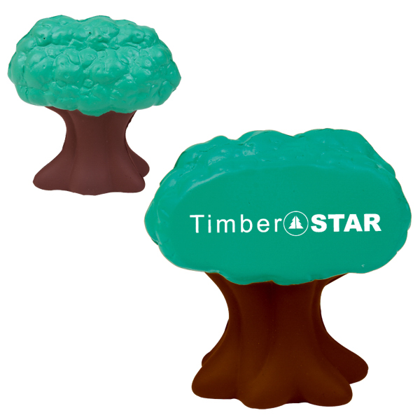 Imprinted Tree Stress reliever
