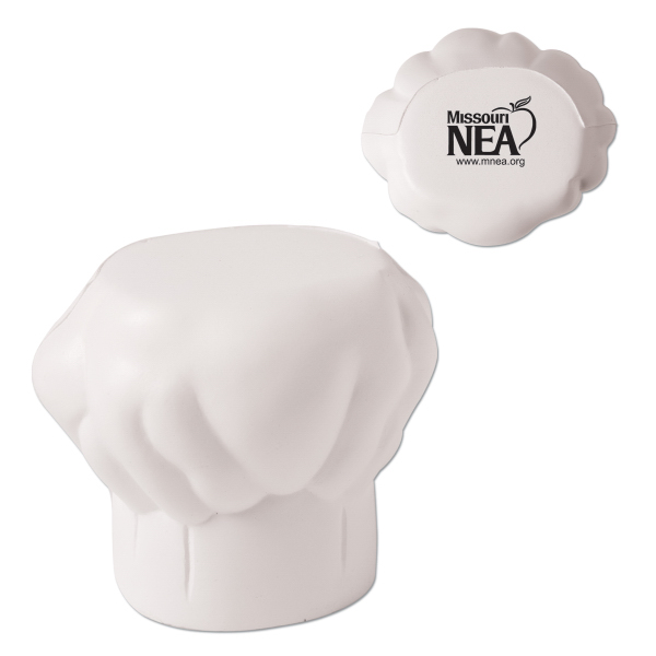 Customized Chef Hat Stress Reliever
