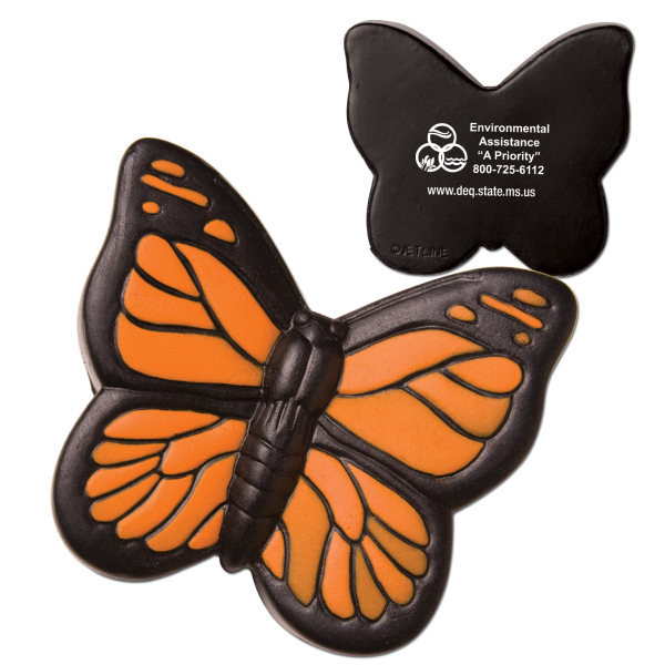 Imprinted Butterfly Stress Reliever
