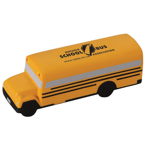 Customized School Bus Stress Reliever