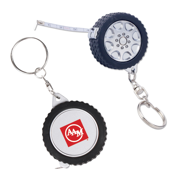Personalized 3 Ft. Tire Tape Measure