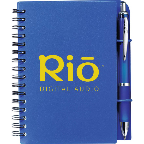 Imprinted Scripto (R) Sticky Notes Jr. Journal Bundle Set