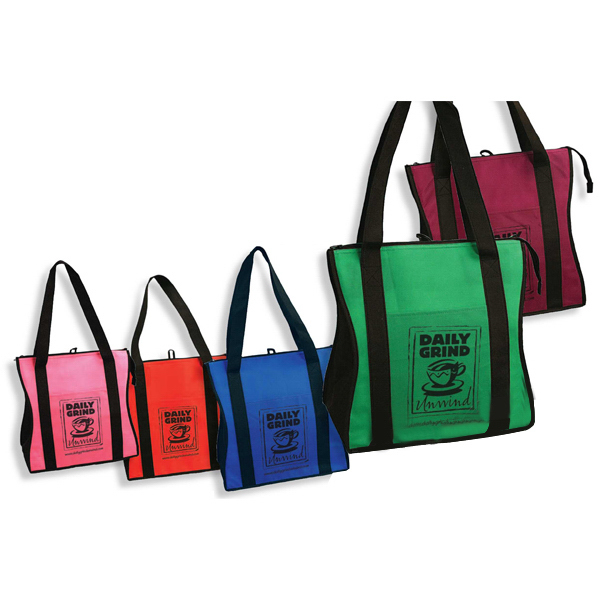 Printed Contour Insulated Tote