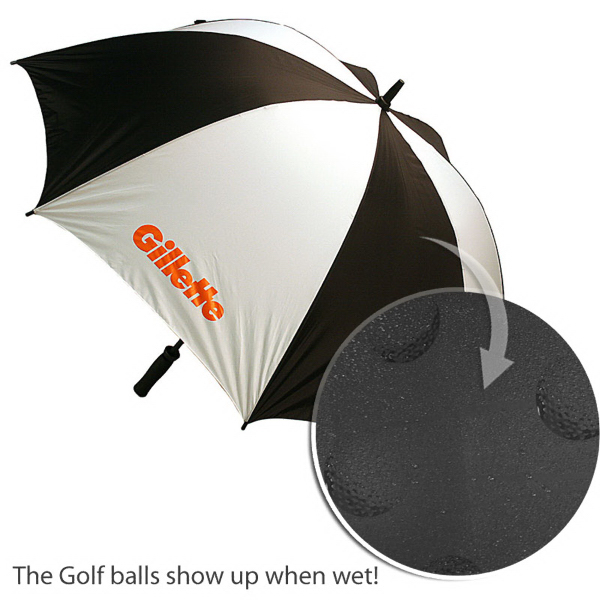 Printed Golf Ball Umbrella