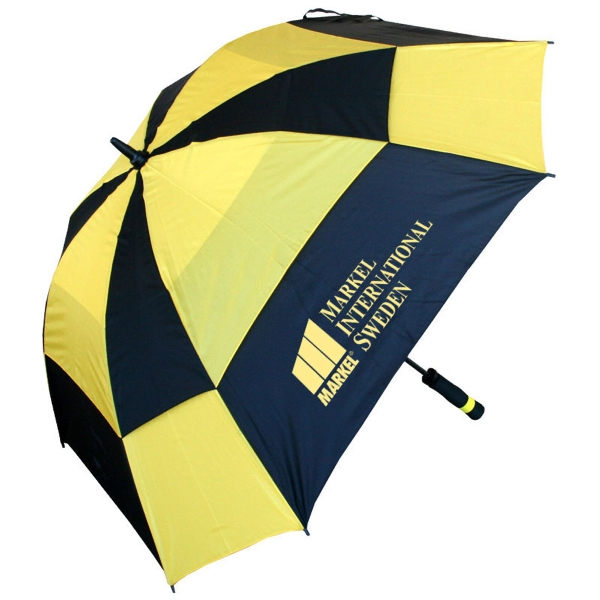 Printed Square golf umbrella