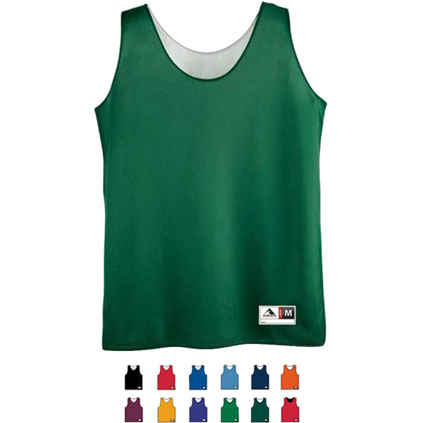 Personalized Girls Reversible Mini Mesh League Tank