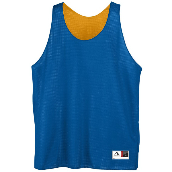 Printed Adult Reversible Mini Mesh League Tank