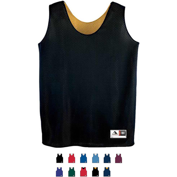 Promotional Ladies Tricot Mesh Reversible Tank