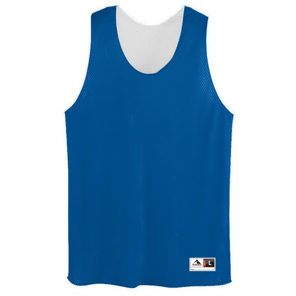 Promotional Youth Tricot Mesh Reversible Tank