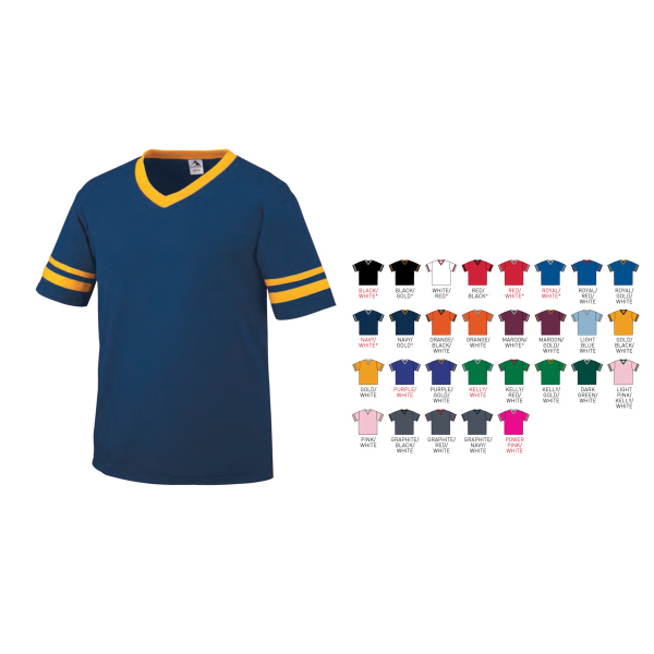 Personalized Sleeve Stripe Youth Jersey