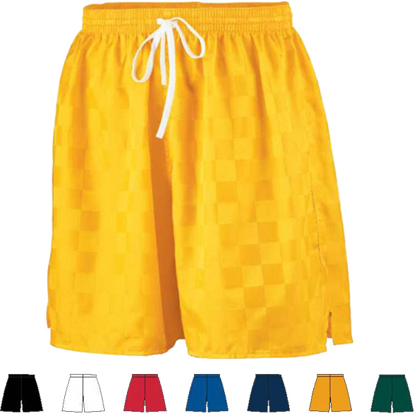 Personalized Adult Long Checkerboard Nylon Short