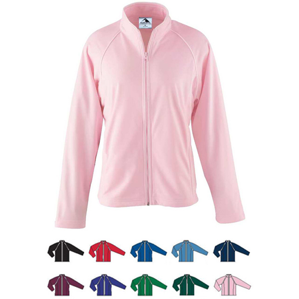 Promotional Girls Brushed Tricot Jacket