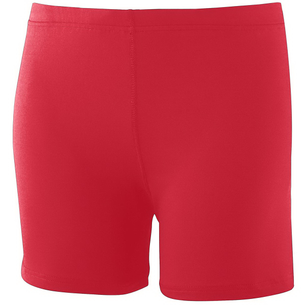 "Custom Girls Poly/Spandex 4"" Short"