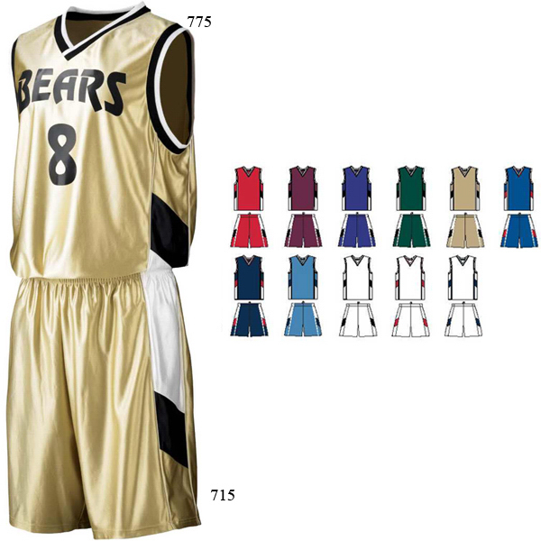 Promotional Adult Tri-Color Dazzle Game Jersey