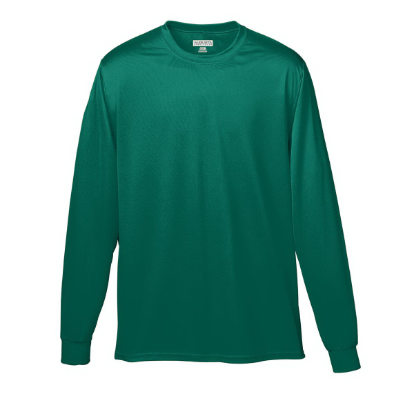 Imprinted Adult Wicking Long Sleeve T-Shirt