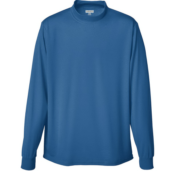 Custom Wicking Adult Mock Turtleneck
