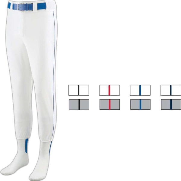Printed Baseball/Softball Adult Pant with Piping