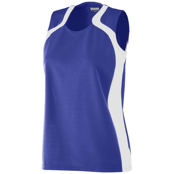 Printed Girls Wicking Mesh Endurance Jersey