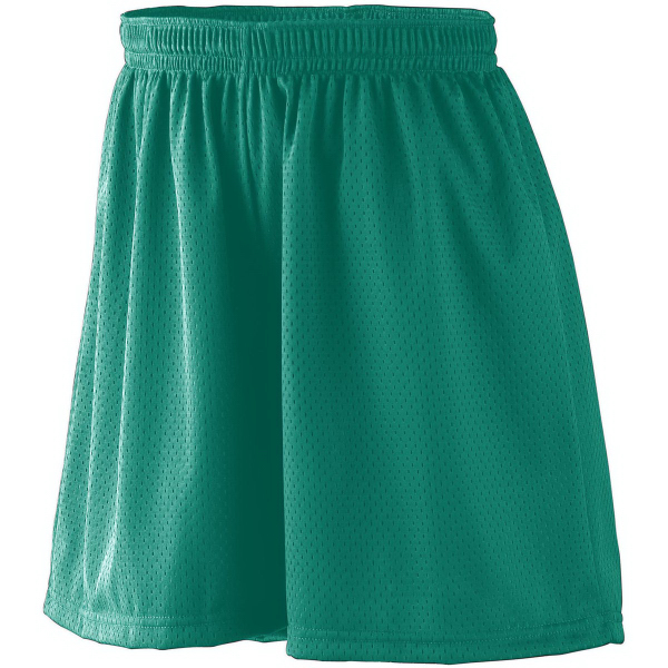 Promotional Girls Tricot Mesh Short/Tricot Lined