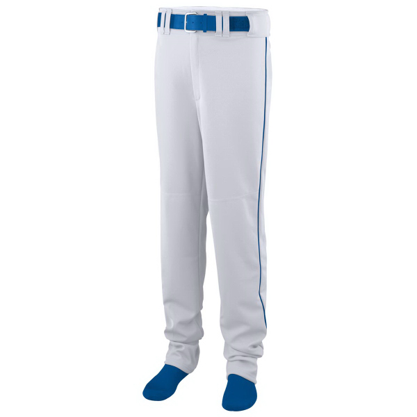 Personalized Open Bottom Youth Baseball/Softball Pant with Piping