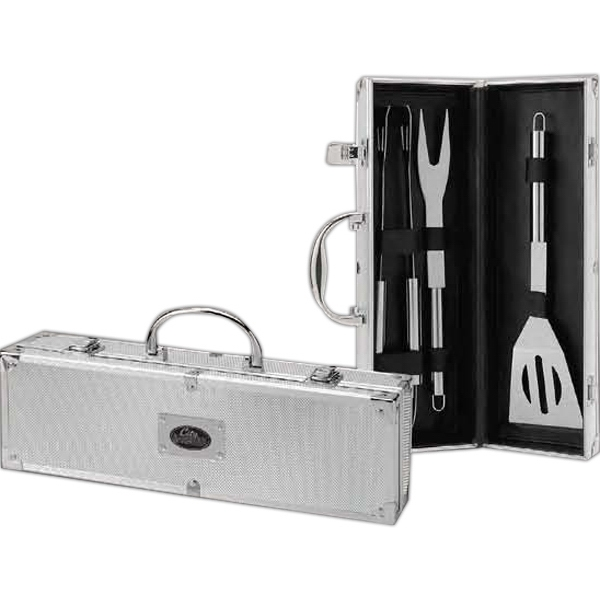 Printed 3-Piece Barbeque Set