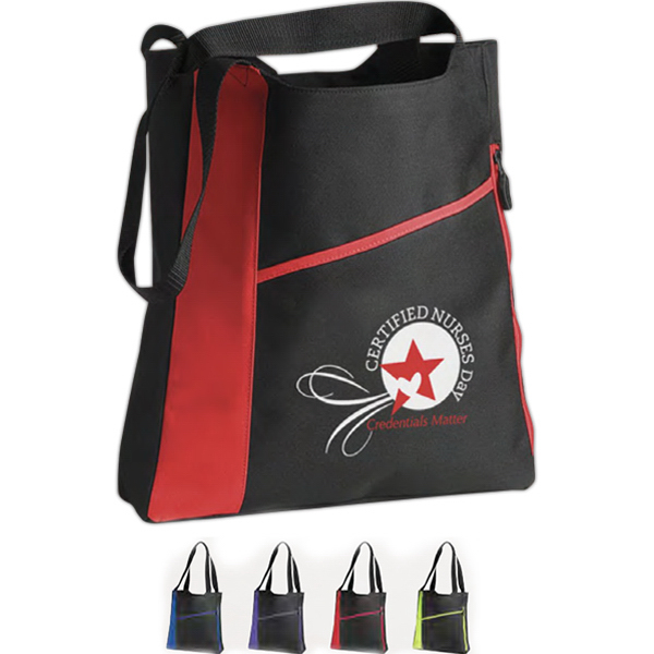 Promotional Incline Convention Tote