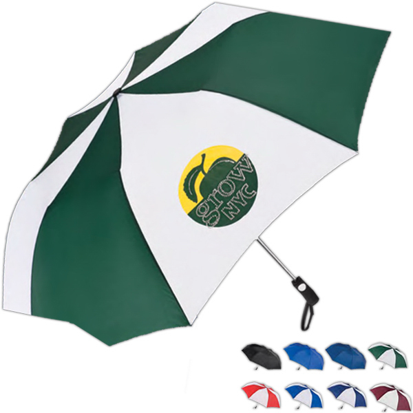Printed Totes (R) Golf Size Auto Open Folding Umbrella