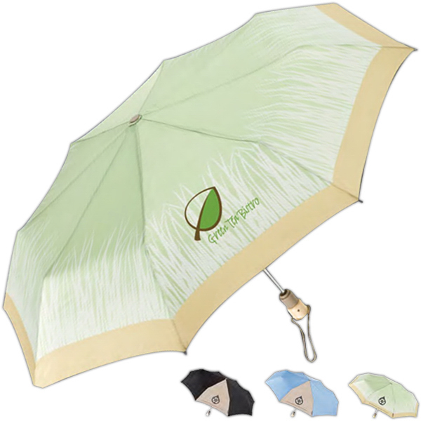 Customized Totes (R) Eco 'Brella (TM) Auto Open/Close Umbrella