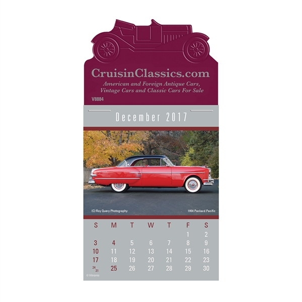 Personalized Cruisin' Cars Calendar
