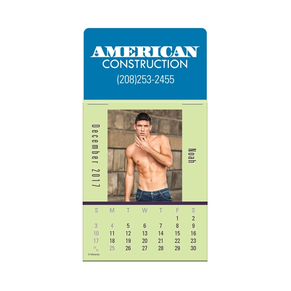 Imprinted Male Call Calendar