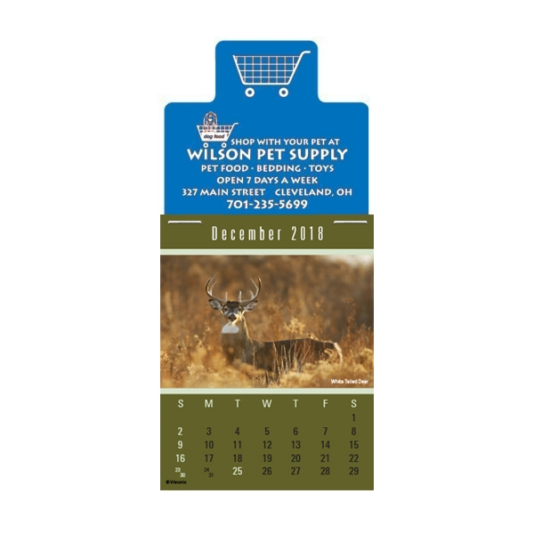 Personalized Sportsmen Magna-Stick (TM) Calendar