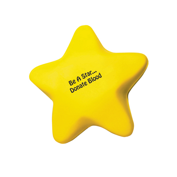 Custom Star Shape Stress Reliever