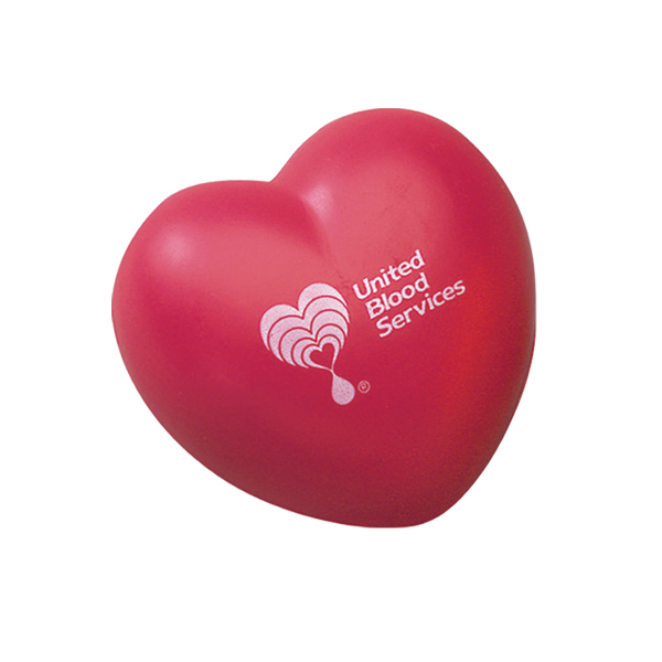 Promotional Heart shape stress reliever