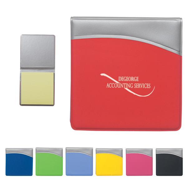 Promotional Sticky Notes In Folder