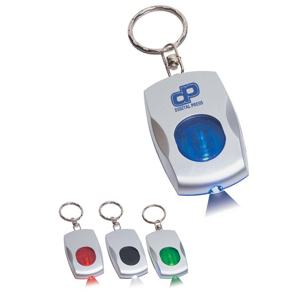 Printed Color Light Key Chain