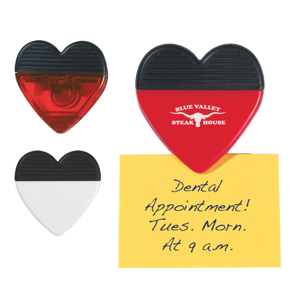 Promotional Heart Shape Clip