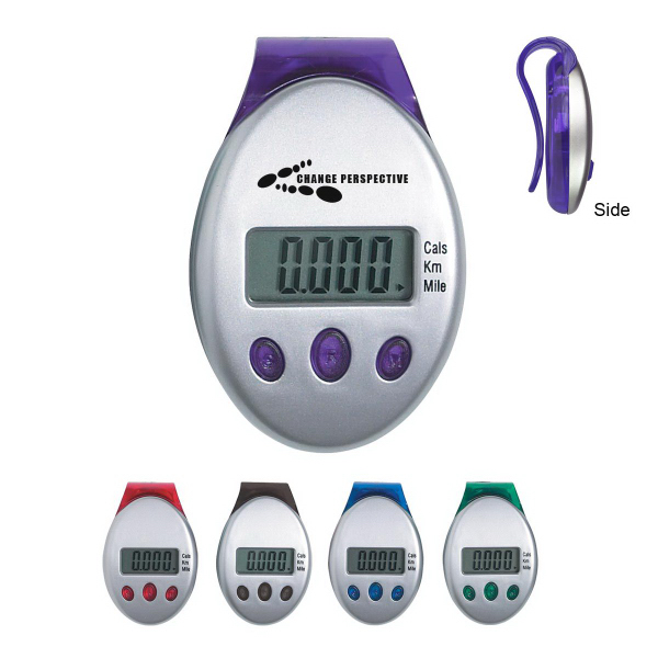 Promotional Deluxe Multi-Function Pedometer