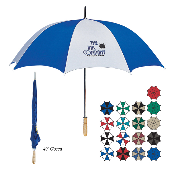 "Personalized 60"" Arc Golf Umbrella"