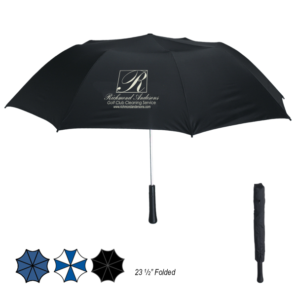 "Printed 56"" Arc Giant Telescope Folding Umbrella"