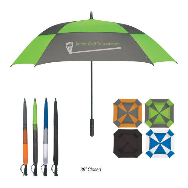 "Promotional 60"" Arc Square Umbrella"