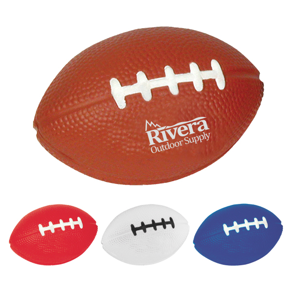 Printed Football Stress Reliever