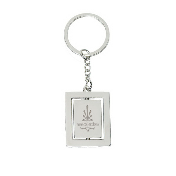 Printed Metal Key Tag