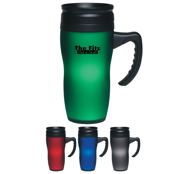 Promotional 16 oz. Soft Touch Mug