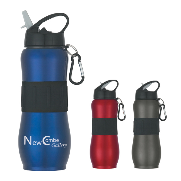 Personalized 28 oz. Stainless Steel Sport Grip Bottle