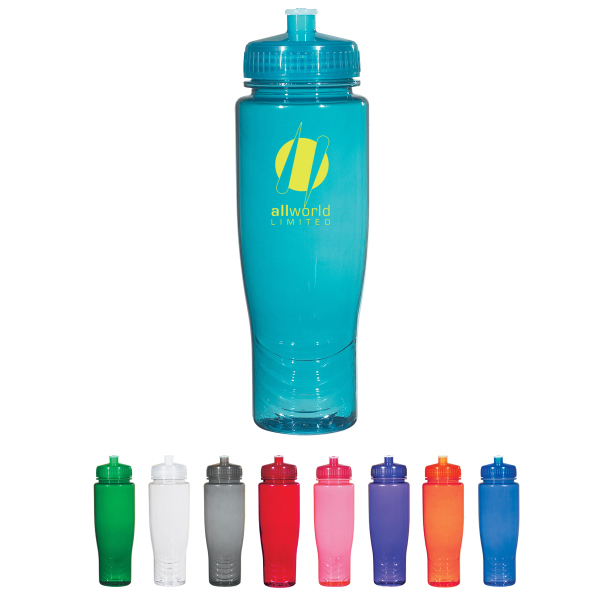 Promotional Poly-Clean 28 oz. Plastic Bottle