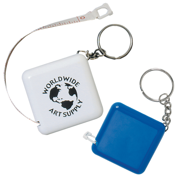 Imprinted Tape-A-Matic Key Tag